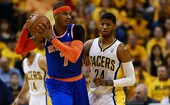 Carmelo brilha, mas 