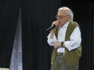 Andor foi detido, passou por vários campos de concentração e foi torturado (Foto: Mariane Rossi/G1)