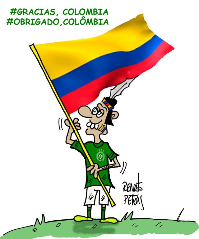 BLOG: #obrigado,Colômbia!