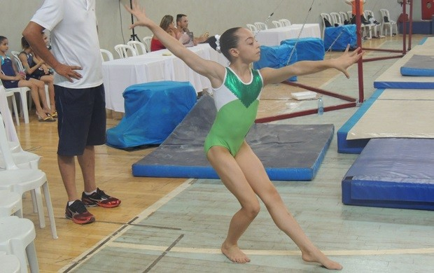 Campeonato reúne ginastas de todo o país em Goiânia (Foto: Fernanda Borges/Globoesporte.com)