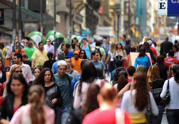 População do Brasil ; PNAD ; povo brasileiro ; consumo ; gente brasileira ; PIB do Brasil ; salário mínimo ;  (Foto: Reprodução/Facebook)