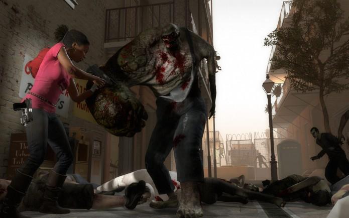 Left 4 Dead 2: zumbis com habilidades especiais aumentam o desafio (Foto: Divulgação)