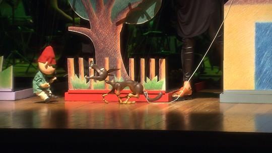 Orquestra Jovem de Inhotim é um dos personagens de o Pedro e o Lobo
