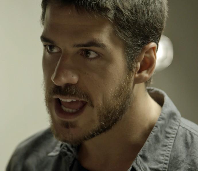 Dante fala sério com Kiki (Foto: TV Globo)