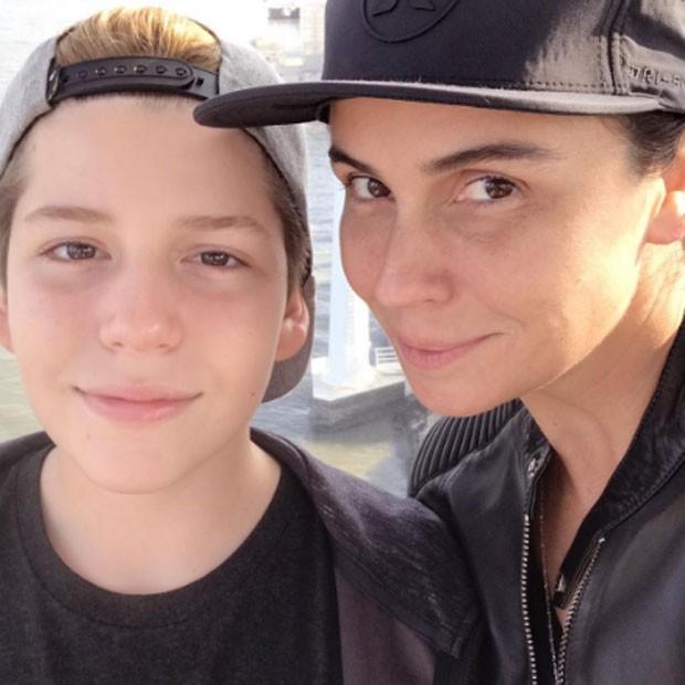 Giovanna Antonelli e Pietro  (Foto: Reprodução)