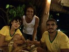 Caio Castro e Maria Casadevall curtem juntos Morro de São Paulo
