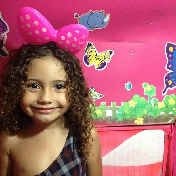 Antônia, filha de Camila Pitanga (Foto: Instagram/ Reprodução)