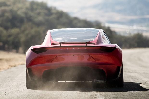 O novo Tesla Roadster, o carro de produção em larga escala mais rápido do mundo (Foto: Divulgação)