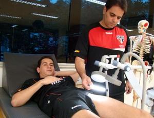 Ganso no Reffis (Foto: Divulgação/ Site oficial do São Paulo FC)