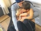 Gisele Bündchen compartilha foto da família: 'Não aguento, é muito amor!'