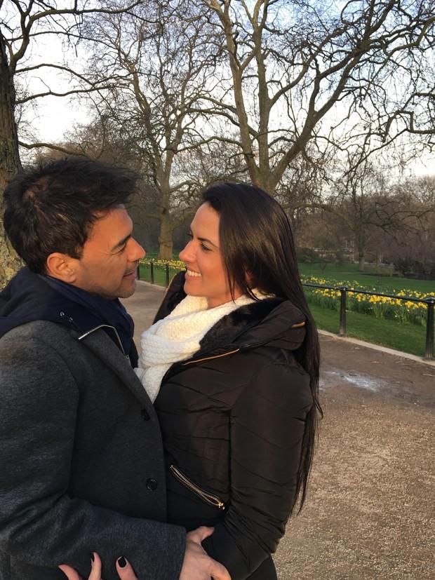 Zezé di Camargo e Graciele Lacerda (Foto: Arquivo Pessoal)