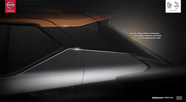 Nissan Kicks - site (Foto: Reprodução)