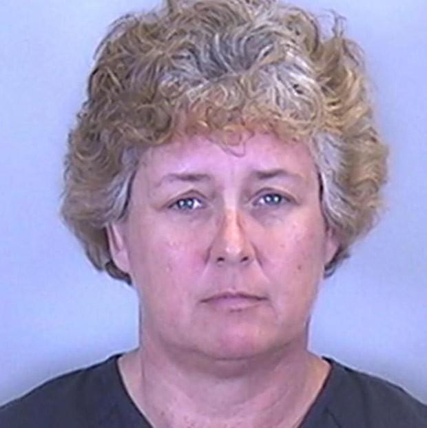 Americana foi presa por agredir o ex-marido após discussão envolvendo a posição sexual (Foto: Manatee County Sheriff's Office)
