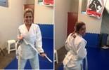 Diana na prática do Jiu Jitsu (Plugue)