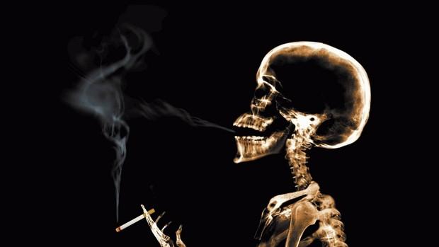 Corrida fora cigarro (Foto: Ilustração)