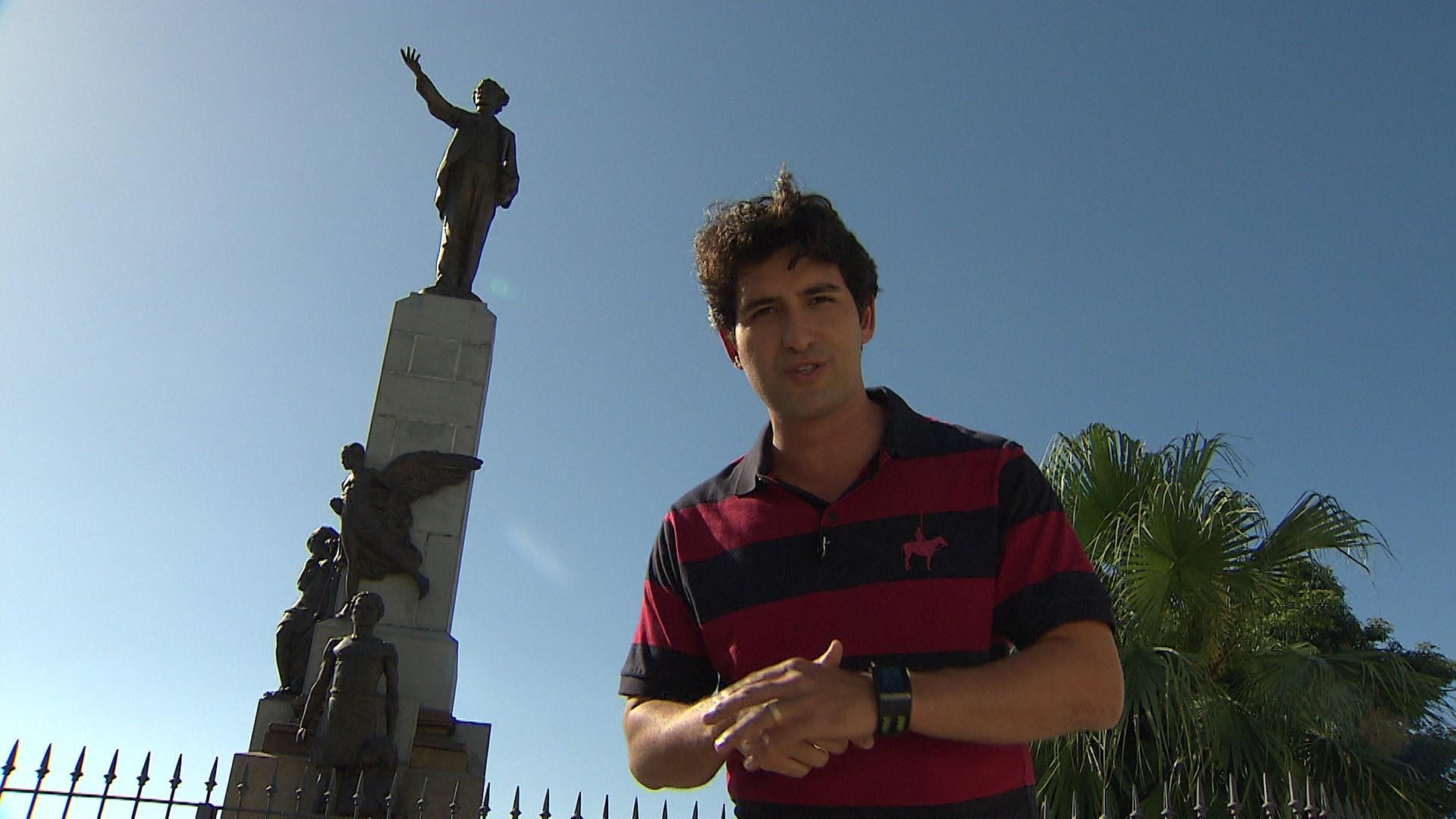 Alessandro Timbó é o apresentador do Mosaico Baiano (Foto: Divulgação)