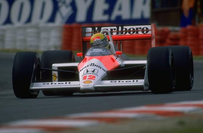 Com o MP4/4, Ayrton Senna venceu o primeiro de seus três títulos mundiais (Foto: Getty Images)