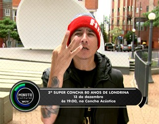 Minuto Cultural Londrina - 3ª Super Concha (Foto: Reprodução/RPC TV)