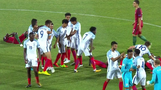 Inglaterra vence Portugal e conquista a Eurocopa Sub-19