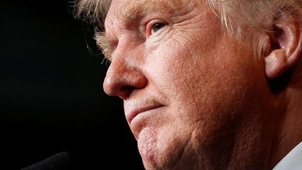 O presidente norte-americano Donald Trump (Foto: Carlo Alegri/Reuters)