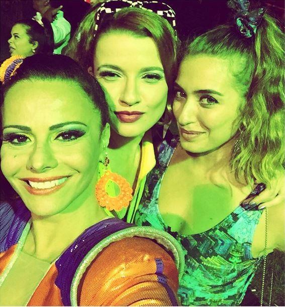Julia Fajardo e Juliana Boller na festa de aniversário de Viviane Araújo (Foto: Reprodução / Instagram)