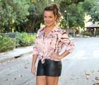 Fernanda Souza conta segredos para boa forma (Carol Caminha / TV Globo)