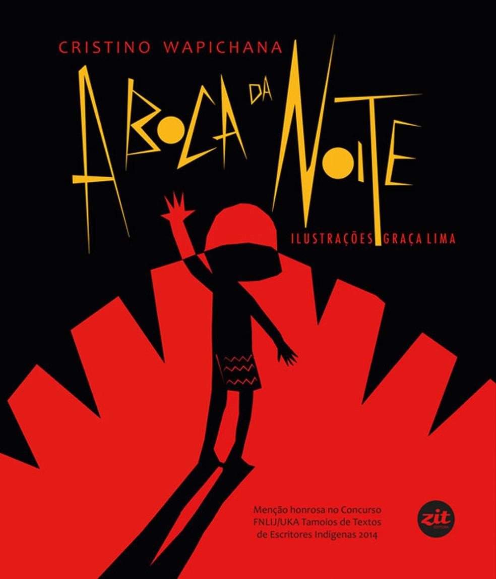 Capa do livro A boca da noite, da Zit Editora (Foto: Divulgação)