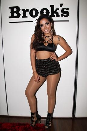 Anitta em bastidores de show em São Paulo (Foto: Manuela Scarpa/ Foto Rio News)