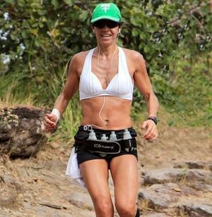 Carla Mesquita Araxá Corrida de Montanha (Foto: Carla Mesquita/arquivo Pessoal)