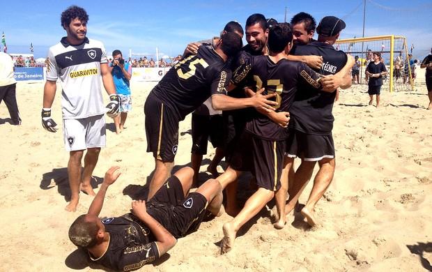 Futebol de areia botafogo taça guanabara campeão (Foto: Thiago Correia)