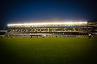 Vila Belmiro (Foto: Ricardo Saibun/Santos FC)