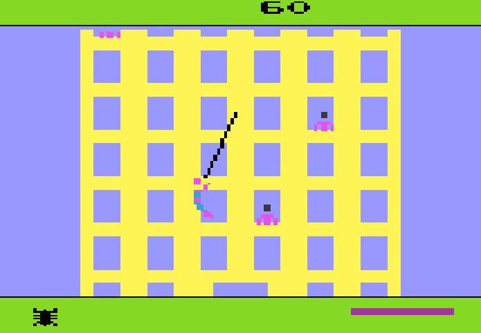 Suba pelas paredes no primeiro jogo do Homem-Aranha (Foto: Reprodução/Youtube)