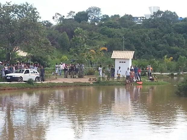 Menino morreu afogado onde é proibido nadar (Foto: Polícia Militar/Divulgação)