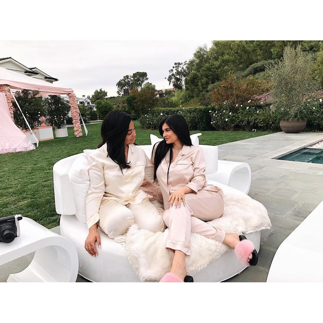 O chá de bebê de Kylie Jenner (Foto: Reprodução/Instagram)