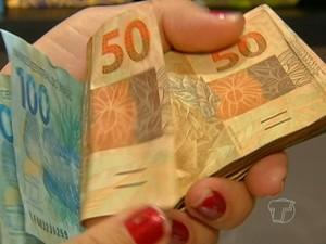 dinheiro santarém (Foto: Reprodução TV Tapajós)