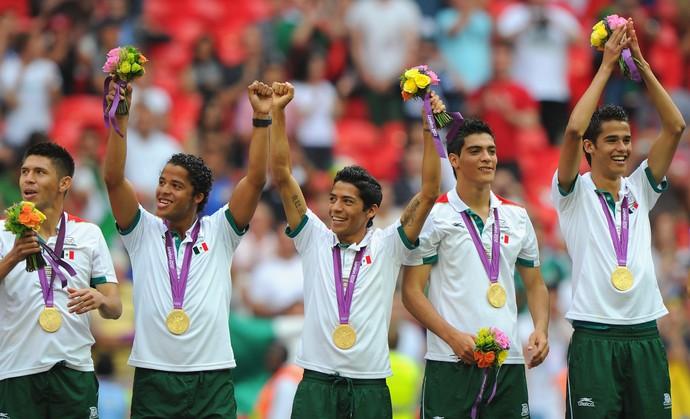 México medalha de ouro 2012 (Foto: Getty Images)