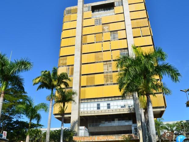 Prédio da Prefeitura de Piracicaba - junho 2016 (Foto: Araripe Castilho/G1)