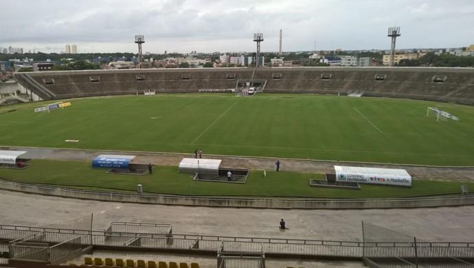 estádio almeidão, campeonato paraibano (Foto: Larissa Keren / GloboEsporte.com/pb)