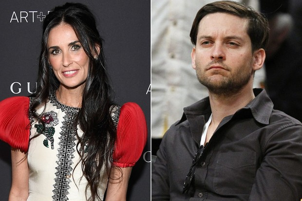 Dami Moore e Tobey Maguire (Foto: AFP / Reuters)