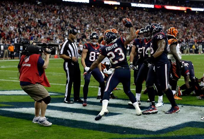 Houston Texans Cincinnati Bengals NFL (Foto: Getty Images)