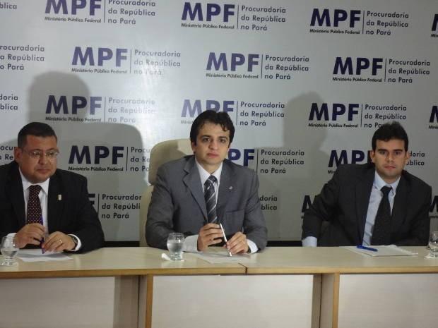 MPF Coletiva Corrupção Combate Pará (Foto: Luana Laboissiere/G1)