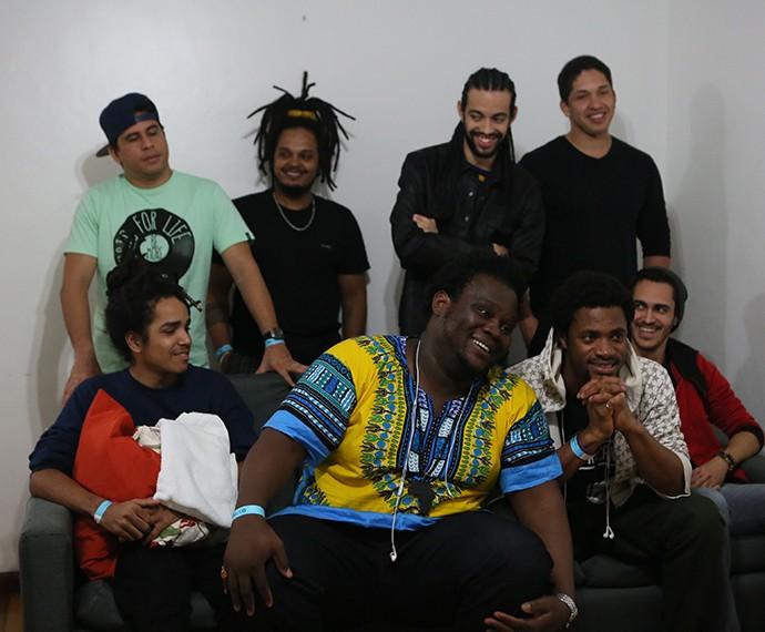 Dois Africanos participam do Festival SuperStar, no Rio de Janeiro (Foto: Isabella Pinheiro/Gshow)
