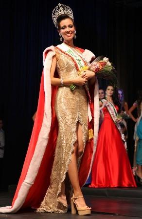 Laura Lopes é a nova rainha de SC (Foto: João Souza Fotos/Divulgação)