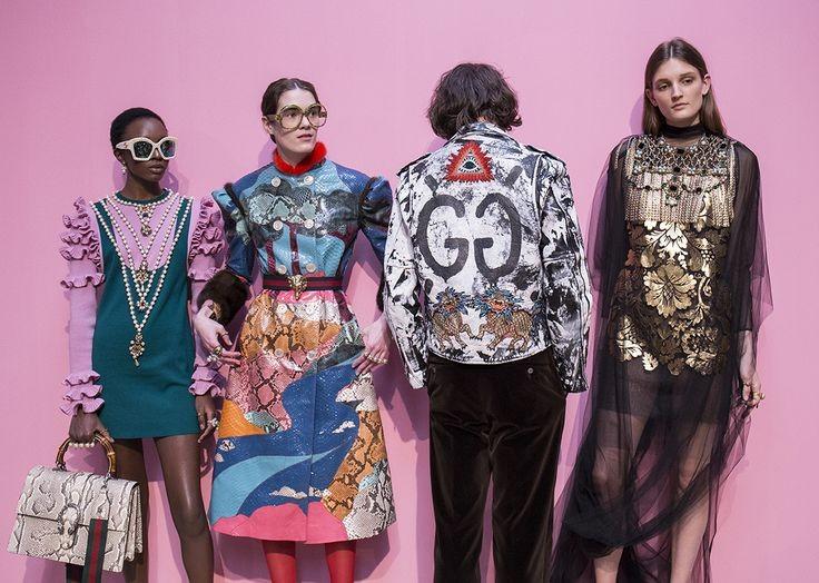 Gucci vai unificar desfile das coleções femininas e masculinas (Foto   Divulgação) 3e797f87227