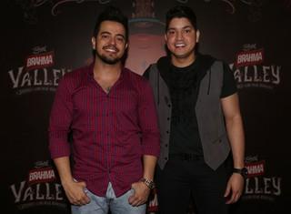 Henrique e Diego (Foto: Iwi Onodera/EGO)