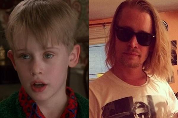 O menininho de 'Esqueceram de Mim' cresceu e se meteu em uma porrada de confusões! Em 2004, Macaulay Culkin foi preso por posse de maconha e mais tarde, acusado de estar também em mãos remédios para os quais não tinha prescrição. (Foto: Divulgação e Reprodução/Instagram)
