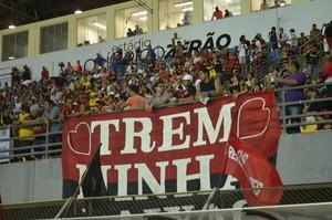 Torcida Trem Amapazão 2015 (Foto: Gabriel Penha/GE-AP)