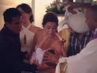 Fernanda Paes Leme batiza bebê: 'Oficialmente dinda!'