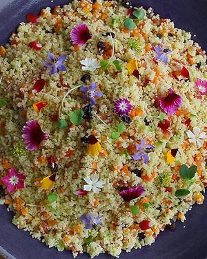 Cuscuz marroquino com legumes (Foto: Rogério Voltan/Divulgação)