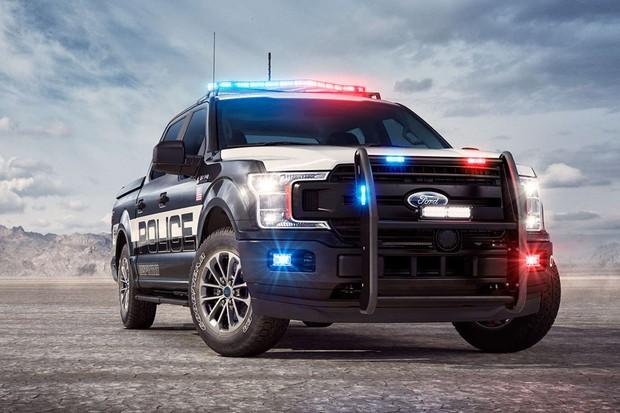 Ford F-150 Responder é primeira picape criada para perseguições policiais (Foto: Divulgação)